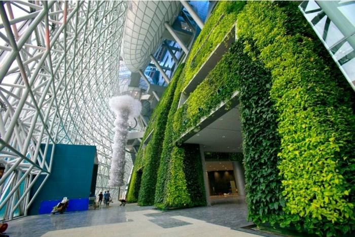 Vườn trên tường cho không gian đô thị